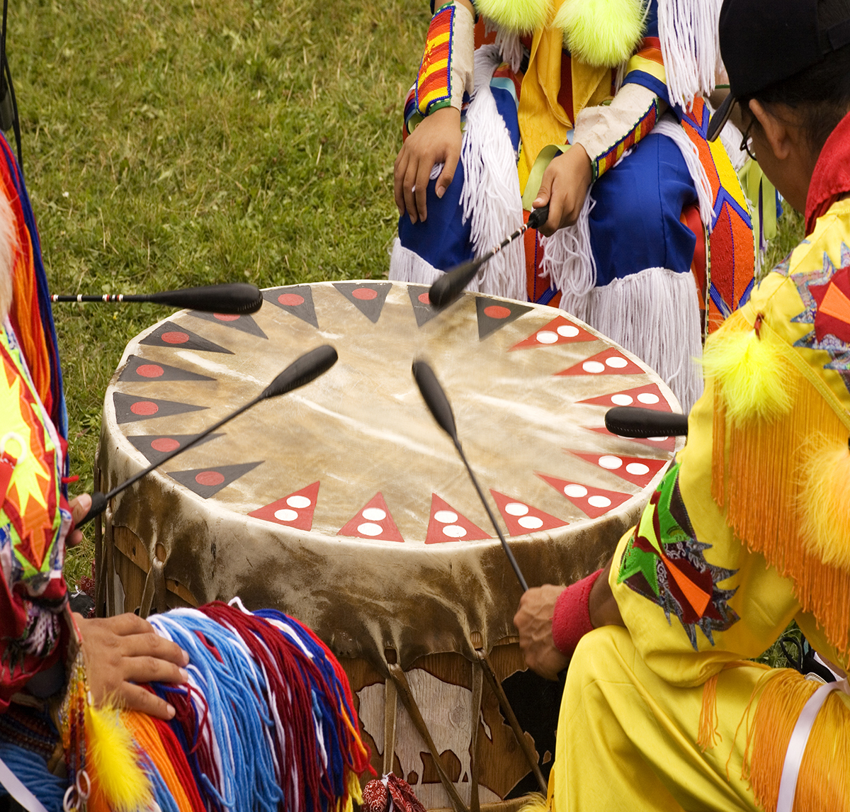 American Indian Drumming - NUIHC - Native American Health Care